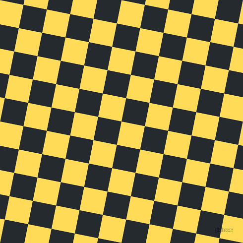 79/169 degree angle diagonal checkered chequered squares checker pattern checkers background, 48 pixel square size, , Mustard and Cinder checkers chequered checkered squares seamless tileable