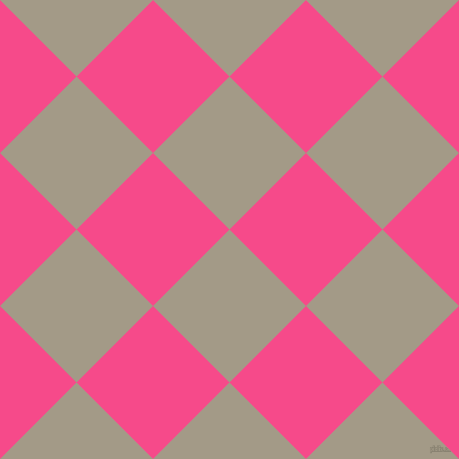 45/135 degree angle diagonal checkered chequered squares checker pattern checkers background, 152 pixel square size, , Napa and French Rose checkers chequered checkered squares seamless tileable