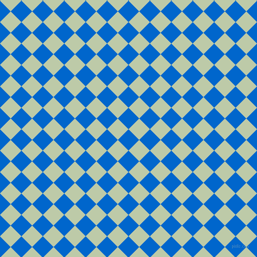 45/135 degree angle diagonal checkered chequered squares checker pattern checkers background, 31 pixel squares size, , Navy Blue and Pale Leaf checkers chequered checkered squares seamless tileable
