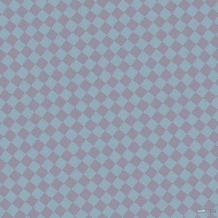 52/142 degree angle diagonal checkered chequered squares checker pattern checkers background, 19 pixel square size, , Nepal and Grey Suit checkers chequered checkered squares seamless tileable