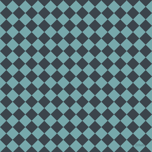 45/135 degree angle diagonal checkered chequered squares checker pattern checkers background, 31 pixel squares size, , Neptune and Arsenic checkers chequered checkered squares seamless tileable