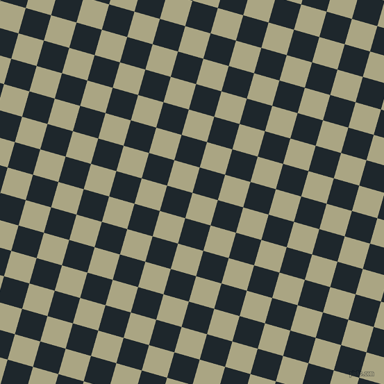 74/164 degree angle diagonal checkered chequered squares checker pattern checkers background, 38 pixel squares size, , Neutral Green and Black Pearl checkers chequered checkered squares seamless tileable