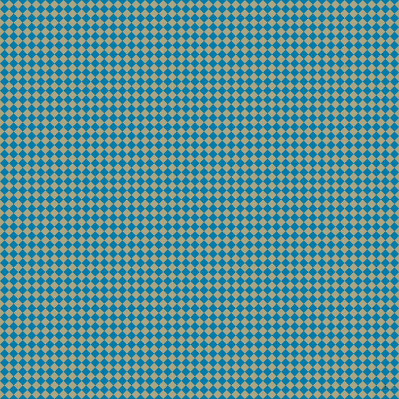 45/135 degree angle diagonal checkered chequered squares checker pattern checkers background, 13 pixel squares size, , Neutral Green and Cerulean checkers chequered checkered squares seamless tileable