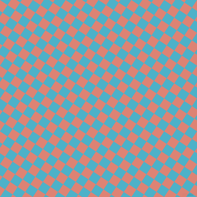 56/146 degree angle diagonal checkered chequered squares checker pattern checkers background, 30 pixel squares size, , New York Pink and Viking checkers chequered checkered squares seamless tileable