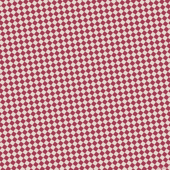 54/144 degree angle diagonal checkered chequered squares checker pattern checkers background, 13 pixel square size, , Night Shadz and Dawn Pink checkers chequered checkered squares seamless tileable