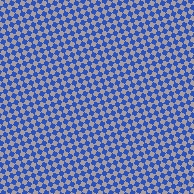 63/153 degree angle diagonal checkered chequered squares checker pattern checkers background, 16 pixel square size, , Nobel and Cerulean Blue checkers chequered checkered squares seamless tileable