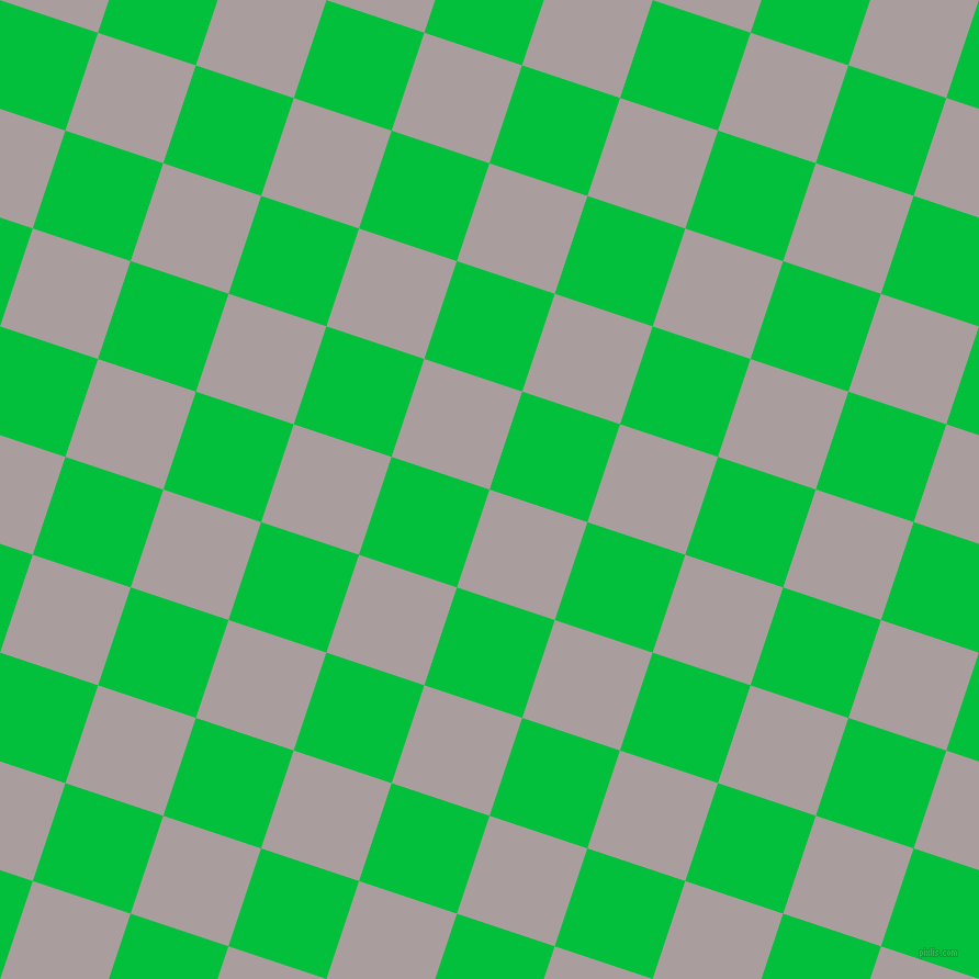 72/162 degree angle diagonal checkered chequered squares checker pattern checkers background, 94 pixel squares size, , Nobel and Dark Pastel Green checkers chequered checkered squares seamless tileable