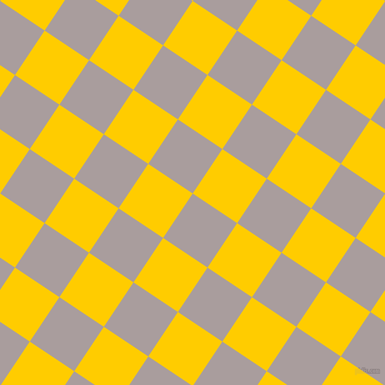 56/146 degree angle diagonal checkered chequered squares checker pattern checkers background, 76 pixel square size, Nobel and Tangerine Yellow checkers chequered checkered squares seamless tileable