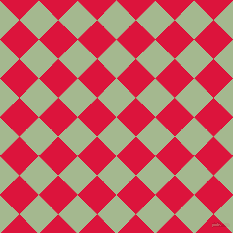 45/135 degree angle diagonal checkered chequered squares checker pattern checkers background, 56 pixel square size, , Norway and Crimson checkers chequered checkered squares seamless tileable