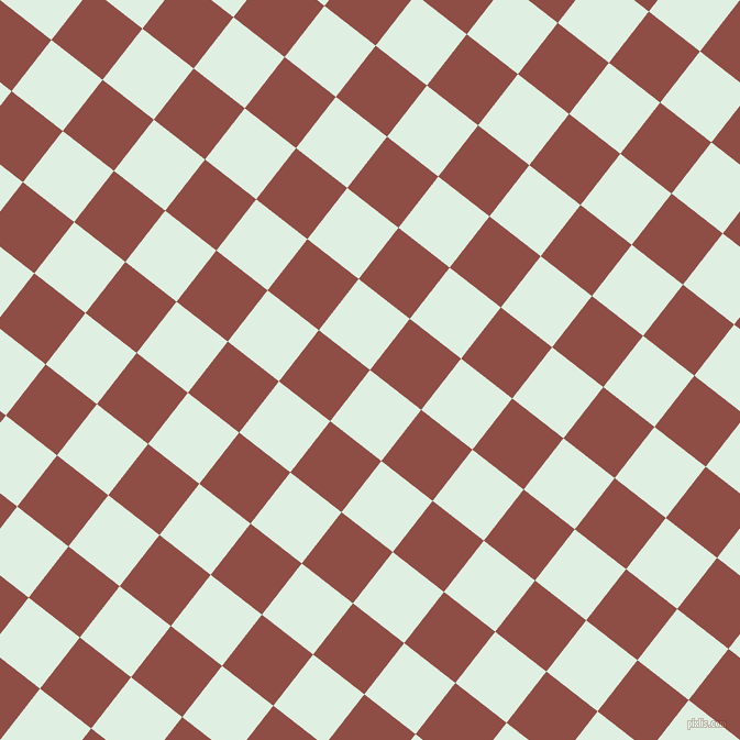 52/142 degree angle diagonal checkered chequered squares checker pattern checkers background, 59 pixel squares size, , Off Green and Matrix checkers chequered checkered squares seamless tileable