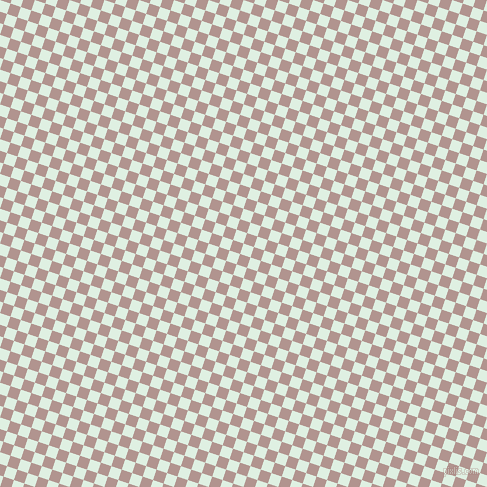 72/162 degree angle diagonal checkered chequered squares checker pattern checkers background, 11 pixel square size, , Off Green and Thatch checkers chequered checkered squares seamless tileable