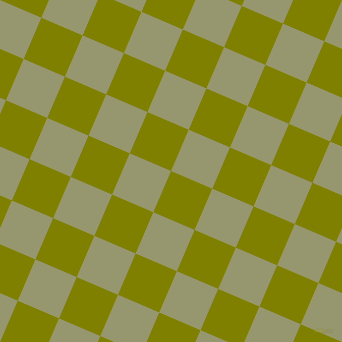 67/157 degree angle diagonal checkered chequered squares checker pattern checkers background, 89 pixel squares size, Olive and Malachite Green checkers chequered checkered squares seamless tileable