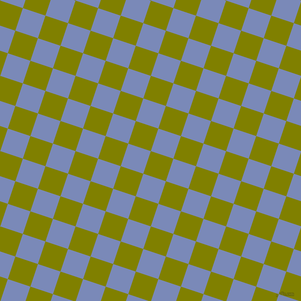 72/162 degree angle diagonal checkered chequered squares checker pattern checkers background, 48 pixel square size, , Olive and Wild Blue Yonder checkers chequered checkered squares seamless tileable