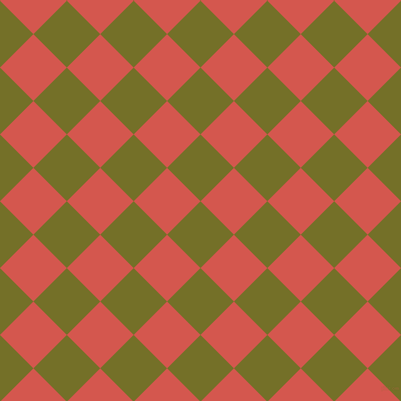 45/135 degree angle diagonal checkered chequered squares checker pattern checkers background, 93 pixel squares size, , Olivetone and Valencia checkers chequered checkered squares seamless tileable