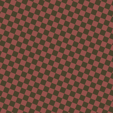 68/158 degree angle diagonal checkered chequered squares checker pattern checkers background, 20 pixel squares size, , Onion and Copper Rust checkers chequered checkered squares seamless tileable