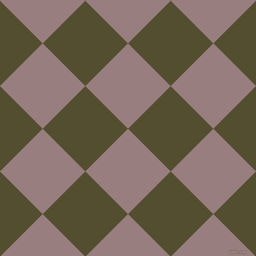 45/135 degree angle diagonal checkered chequered squares checker pattern checkers background, 120 pixel square size, , Opium and Thatch Green checkers chequered checkered squares seamless tileable