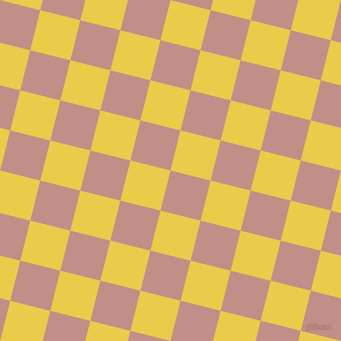 76/166 degree angle diagonal checkered chequered squares checker pattern checkers background, 59 pixel square size, , Oriental Pink and Festival checkers chequered checkered squares seamless tileable