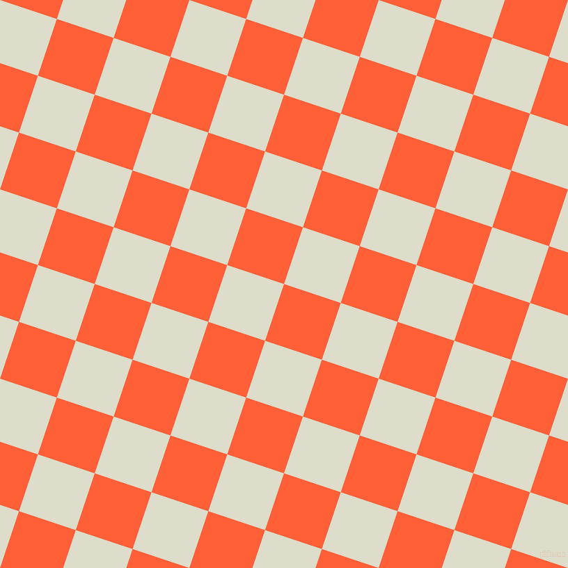 72/162 degree angle diagonal checkered chequered squares checker pattern checkers background, 86 pixel squares size, , Outrageous Orange and Green White checkers chequered checkered squares seamless tileable