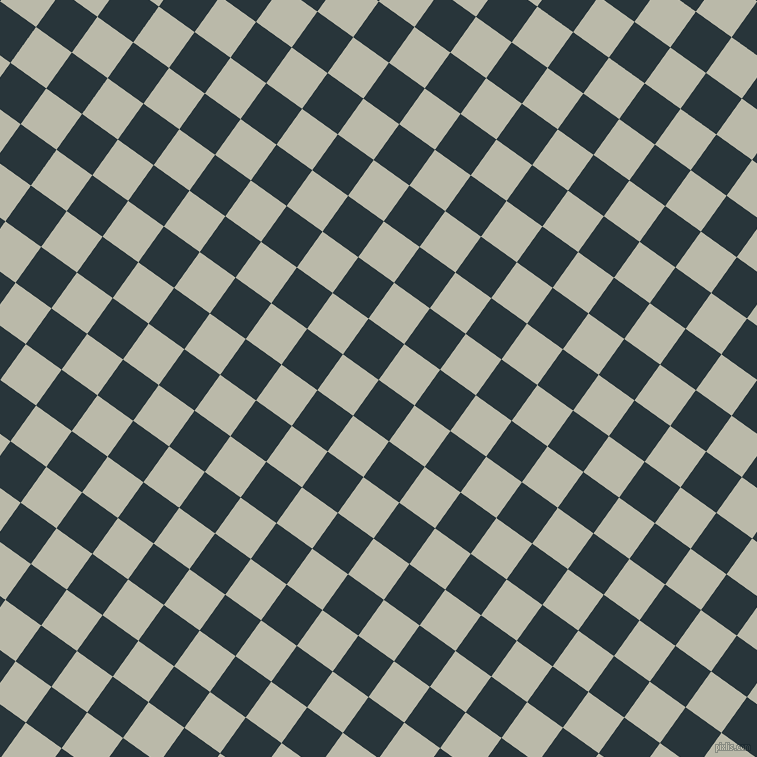 54/144 degree angle diagonal checkered chequered squares checker pattern checkers background, 44 pixel squares size, , Oxford Blue and Mist Grey checkers chequered checkered squares seamless tileable