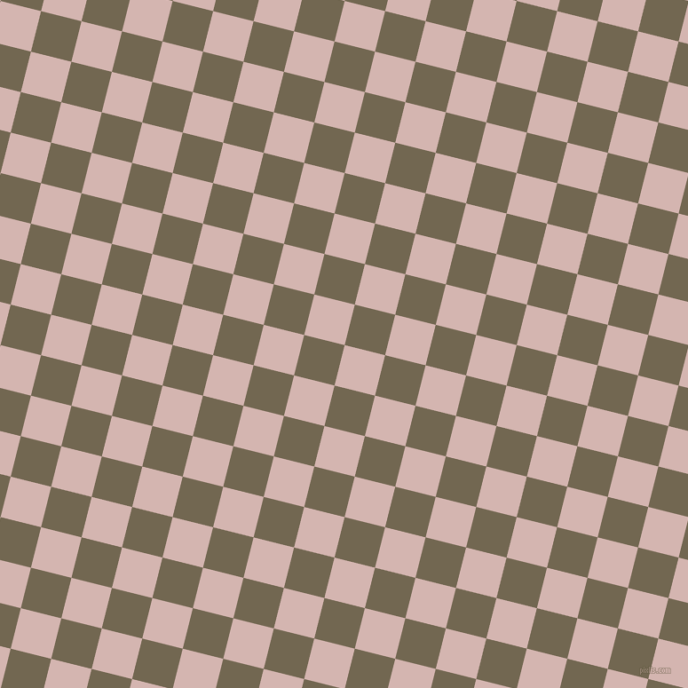 76/166 degree angle diagonal checkered chequered squares checker pattern checkers background, 47 pixel squares size, , Oyster Pink and Coffee checkers chequered checkered squares seamless tileable