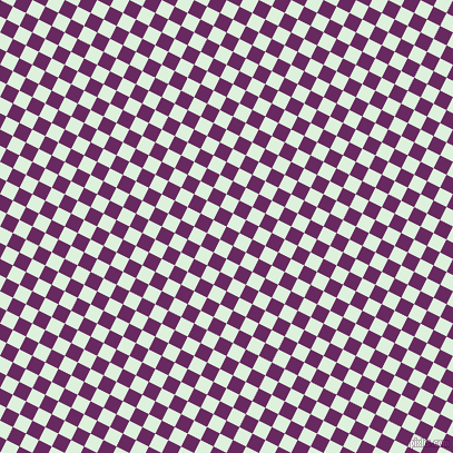 63/153 degree angle diagonal checkered chequered squares checker pattern checkers background, 13 pixel squares size, Palatinate Purple and Tara checkers chequered checkered squares seamless tileable