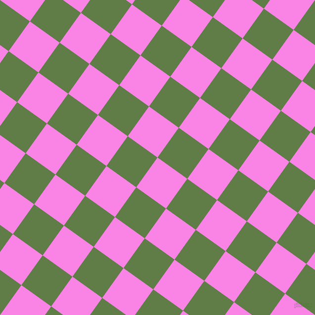 54/144 degree angle diagonal checkered chequered squares checker pattern checkers background, 74 pixel squares size, , Pale Magenta and Dingley checkers chequered checkered squares seamless tileable