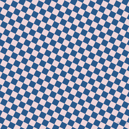63/153 degree angle diagonal checkered chequered squares checker pattern checkers background, 20 pixel squares size, , Pale Rose and Endeavour checkers chequered checkered squares seamless tileable