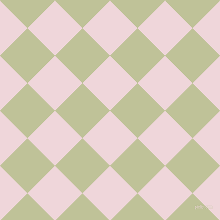 45/135 degree angle diagonal checkered chequered squares checker pattern checkers background, 78 pixel squares size, , Pale Rose and Green Mist checkers chequered checkered squares seamless tileable