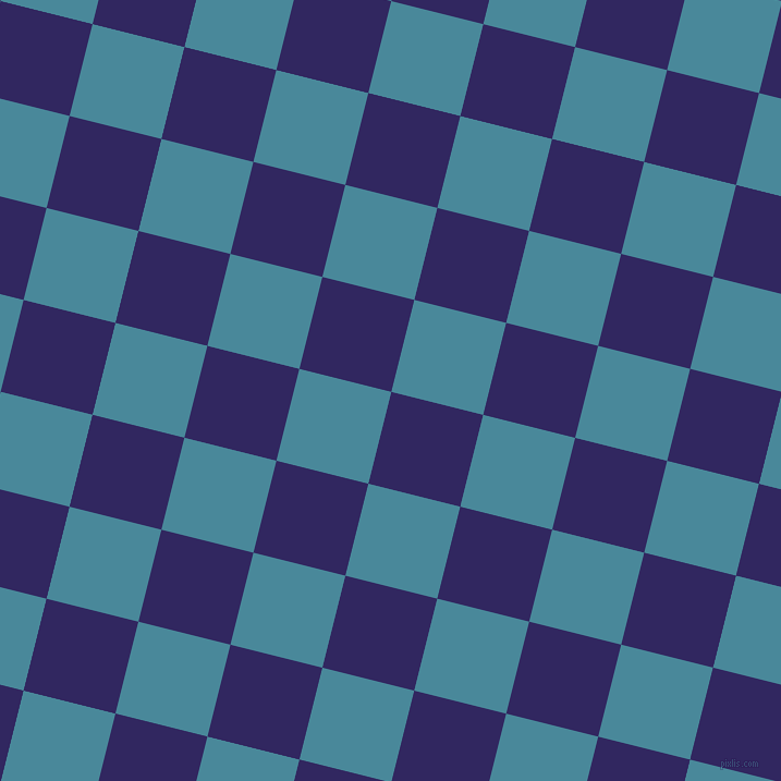 76/166 degree angle diagonal checkered chequered squares checker pattern checkers background, 87 pixel square size, , Paris M and Hippie Blue checkers chequered checkered squares seamless tileable