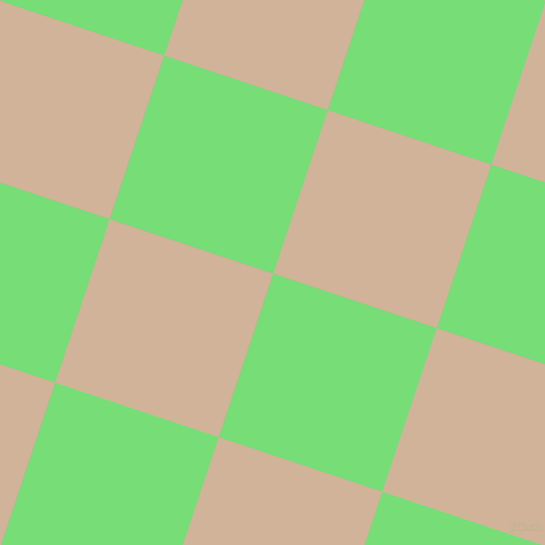 72/162 degree angle diagonal checkered chequered squares checker pattern checkers background, 192 pixel squares size, , Pastel Green and Cashmere checkers chequered checkered squares seamless tileable