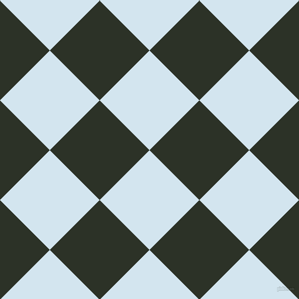 45/135 degree angle diagonal checkered chequered squares checker pattern checkers background, 145 pixel squares size, , Pattens Blue and Black Forest checkers chequered checkered squares seamless tileable