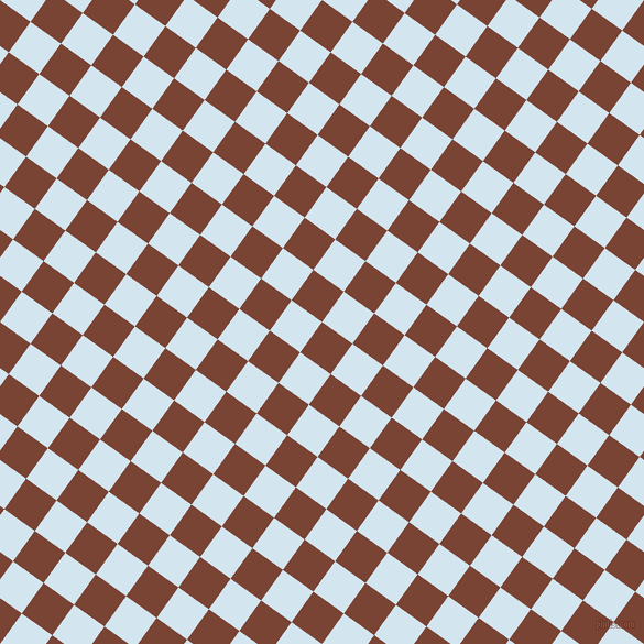 54/144 degree angle diagonal checkered chequered squares checker pattern checkers background, 34 pixel square size, , Peanut and Pattens Blue checkers chequered checkered squares seamless tileable