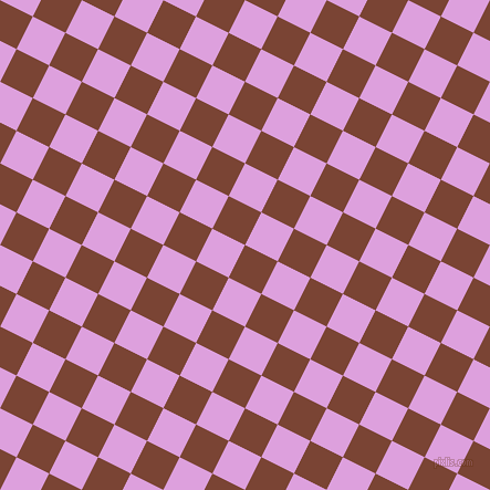 63/153 degree angle diagonal checkered chequered squares checker pattern checkers background, 33 pixel square size, , Peanut and Plum checkers chequered checkered squares seamless tileable