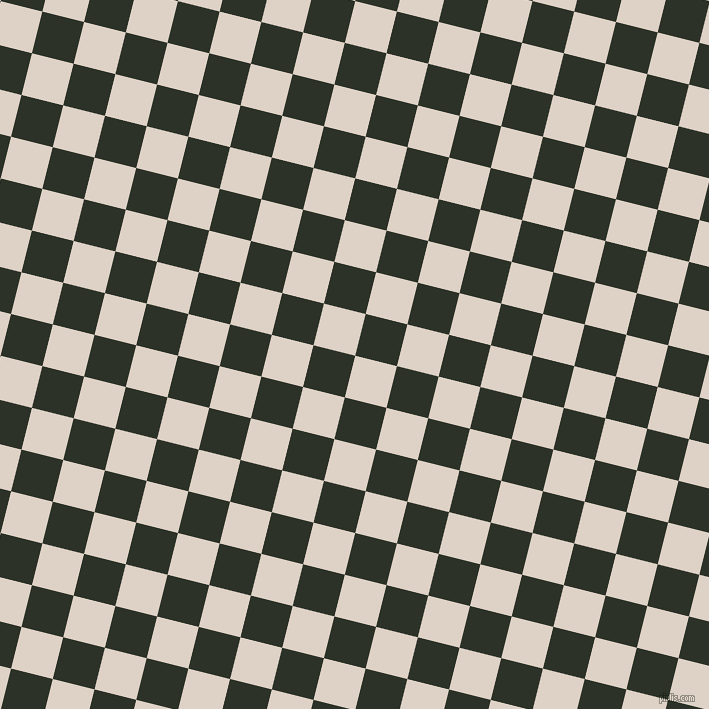 76/166 degree angle diagonal checkered chequered squares checker pattern checkers background, 43 pixel square size, , Pearl Bush and Black Forest checkers chequered checkered squares seamless tileable