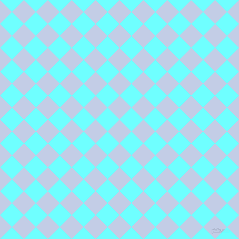 45/135 degree angle diagonal checkered chequered squares checker pattern checkers background, 34 pixel square size, , Periwinkle and Baby Blue checkers chequered checkered squares seamless tileable