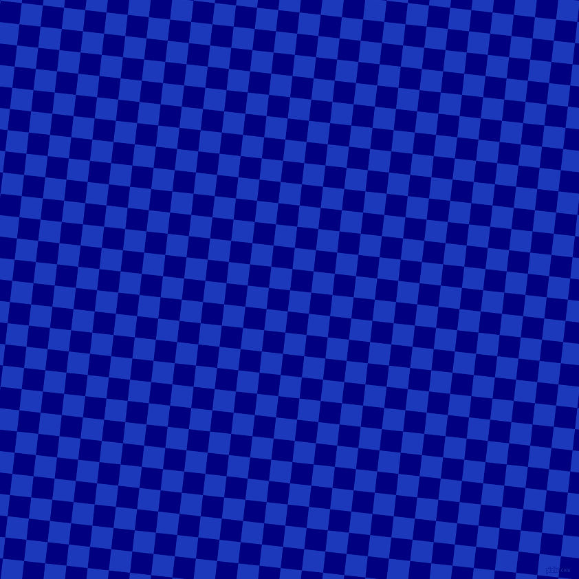 84/174 degree angle diagonal checkered chequered squares checker pattern checkers background, 31 pixel square size, , Persian Blue and Navy checkers chequered checkered squares seamless tileable