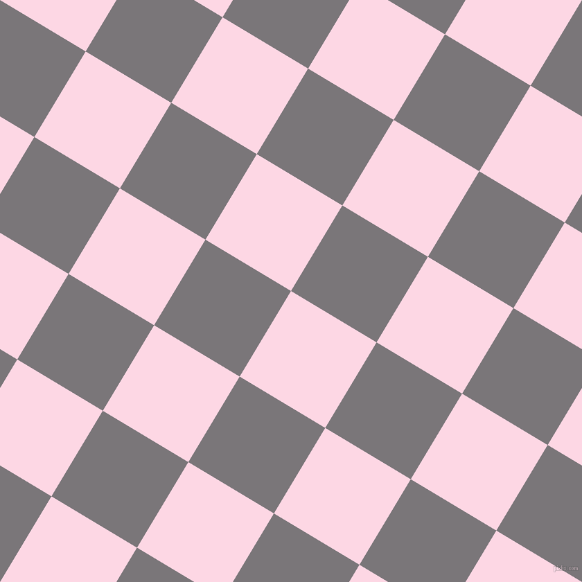 59/149 degree angle diagonal checkered chequered squares checker pattern checkers background, 144 pixel squares size, , Pig Pink and Monsoon checkers chequered checkered squares seamless tileable