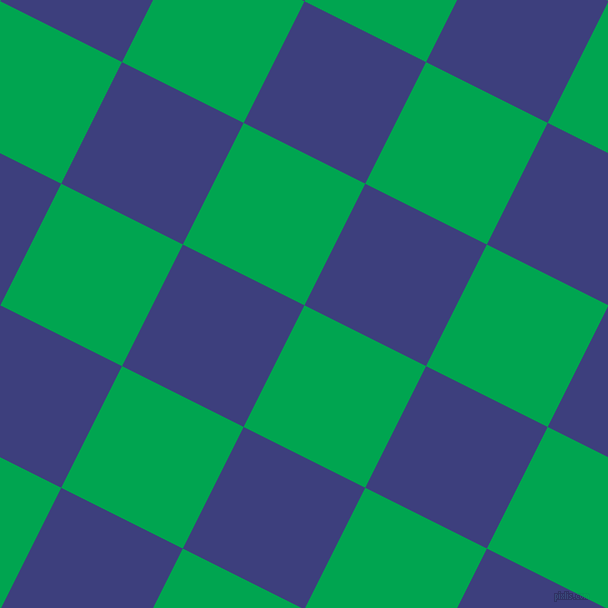 63/153 degree angle diagonal checkered chequered squares checker pattern checkers background, 136 pixel squares size, , Pigment Green and Jacksons Purple checkers chequered checkered squares seamless tileable
