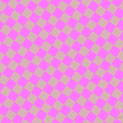 56/146 degree angle diagonal checkered chequered squares checker pattern checkers background, 36 pixel squares size, , Pink Flare and Fuchsia Pink checkers chequered checkered squares seamless tileable