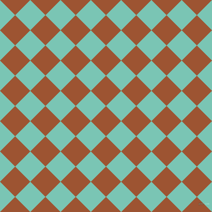 45/135 degree angle diagonal checkered chequered squares checker pattern checkers background, 70 pixel square size, , Piper and Monte Carlo checkers chequered checkered squares seamless tileable