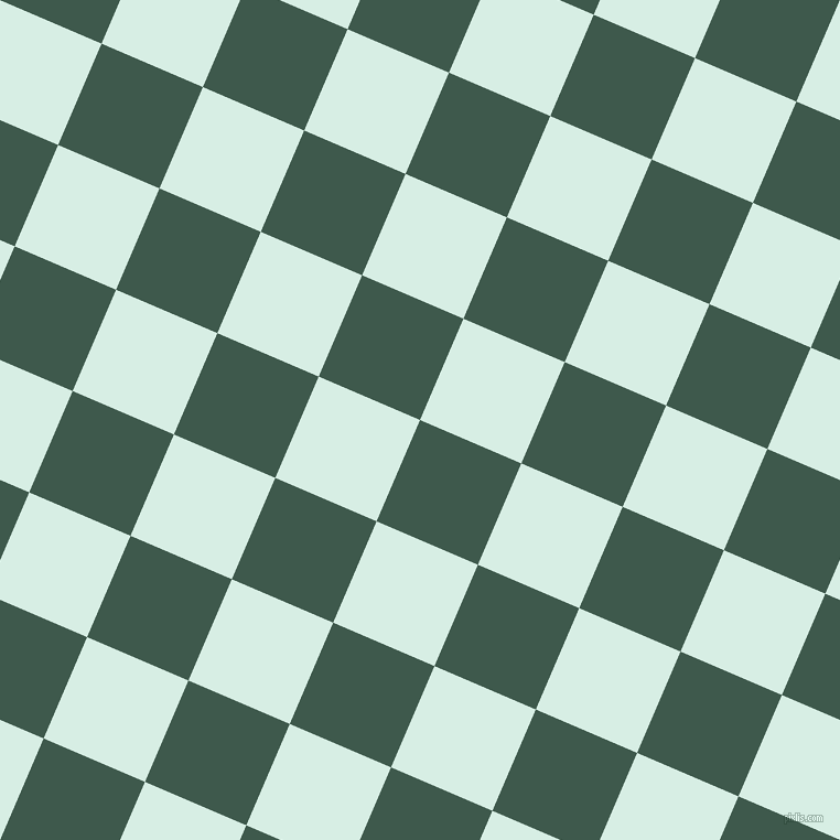 67/157 degree angle diagonal checkered chequered squares checker pattern checkers background, 100 pixel squares size, Plantation and White Ice checkers chequered checkered squares seamless tileable