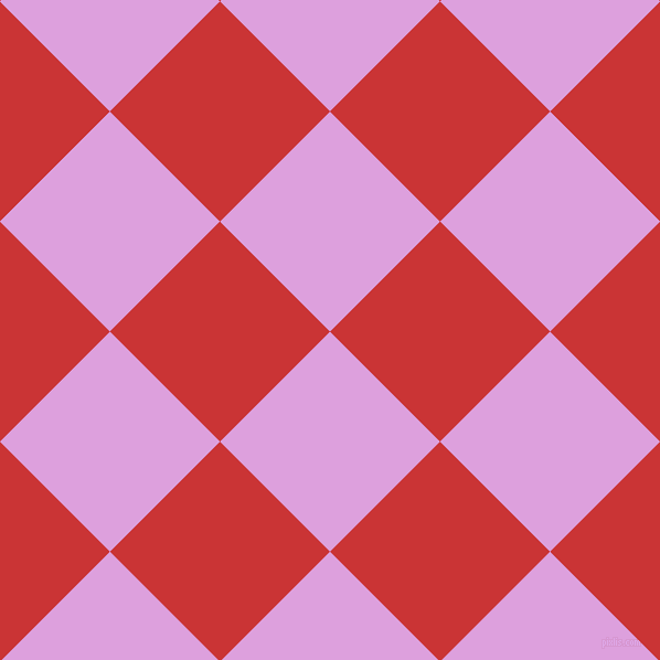 45/135 degree angle diagonal checkered chequered squares checker pattern checkers background, 141 pixel squares size, , Plum and Mahogany checkers chequered checkered squares seamless tileable