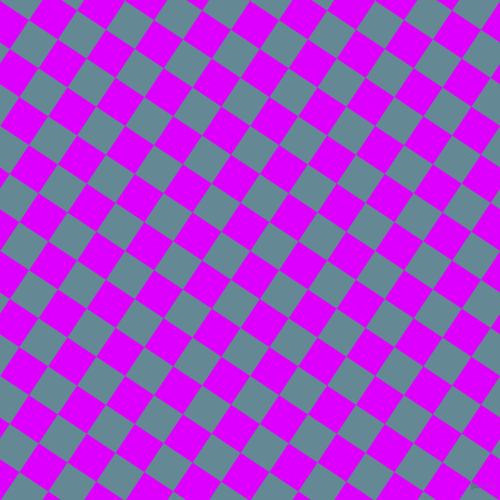 56/146 degree angle diagonal checkered chequered squares checker pattern checkers background, 50 pixel square size, , Psychedelic Purple and Horizon checkers chequered checkered squares seamless tileable
