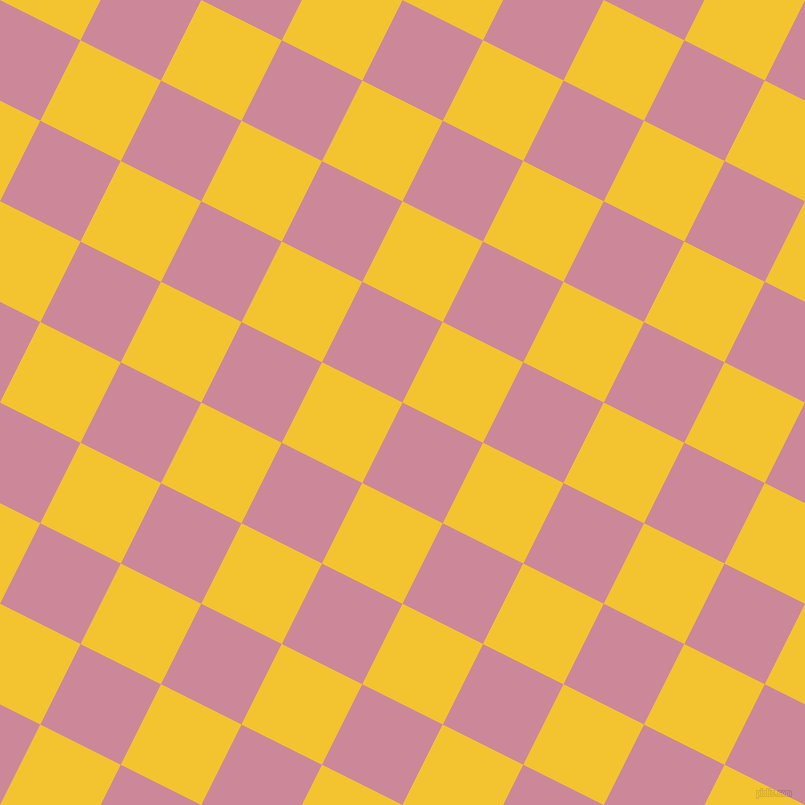 63/153 degree angle diagonal checkered chequered squares checker pattern checkers background, 90 pixel square size, , Puce and Saffron checkers chequered checkered squares seamless tileable