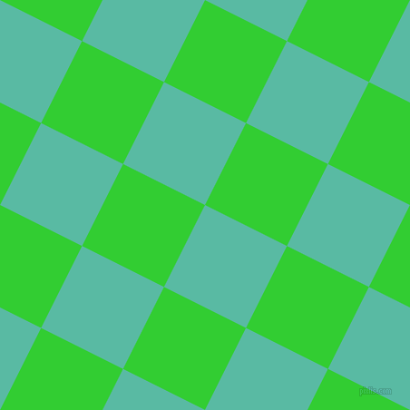 63/153 degree angle diagonal checkered chequered squares checker pattern checkers background, 101 pixel squares size, , Puerto Rico and Lime Green checkers chequered checkered squares seamless tileable