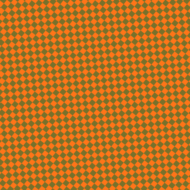 51/141 degree angle diagonal checkered chequered squares checker pattern checkers background, 17 pixel squares size, , Pumpkin and Crete checkers chequered checkered squares seamless tileable
