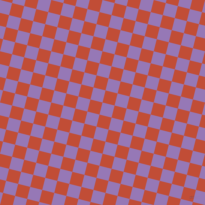 76/166 degree angle diagonal checkered chequered squares checker pattern checkers background, 42 pixel square size, , Purple Mountain