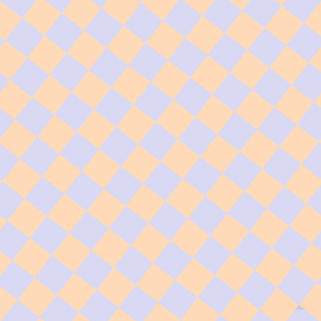 52/142 degree angle diagonal checkered chequered squares checker pattern checkers background, 41 pixel squares size, , Quartz and Peach Puff checkers chequered checkered squares seamless tileable