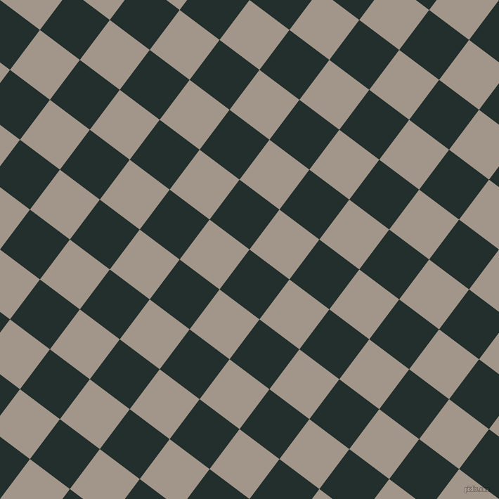 53/143 degree angle diagonal checkered chequered squares checker pattern checkers background, 71 pixel squares size, , Racing Green and Zorba checkers chequered checkered squares seamless tileable