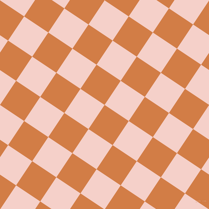 56/146 degree angle diagonal checkered chequered squares checker pattern checkers background, 97 pixel square size, , Raw Sienna and Coral Candy checkers chequered checkered squares seamless tileable